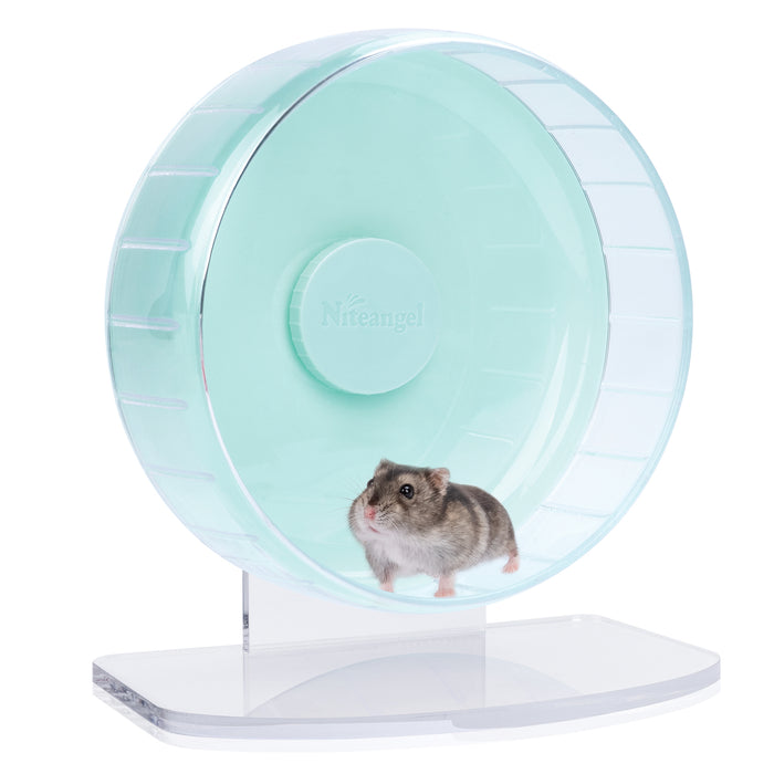Niteangel Super-Silent Hamster Exercise Wheels - 8.2 inches