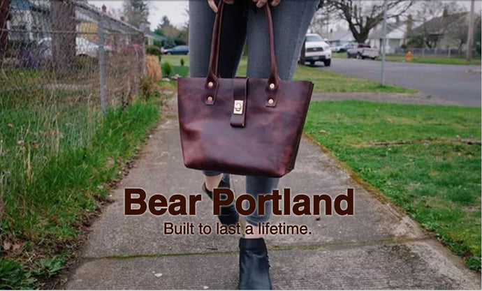 Introducing Bear Leather Goods