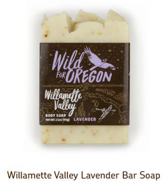 Willamette Valley Lavender Bar Soap, 1 Box of 24 | ウィラメットバレーラベンダーバーソープ, , 1箱24個入り