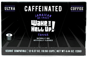 Wake The Hell Up! K-Cups Jamaican Me Crazy® Flavored - Wake The Hell Up Coffee