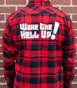 Wake the Hell Up! Flannel