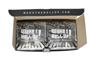 Wake The Hell Up! 2 Pack Of 12 oz Bags - Wake The Hell Up Coffee