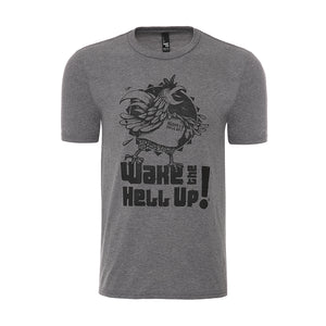 Wake The Hell Up! Rooster T-Shirt - Wake The Hell Up Coffee