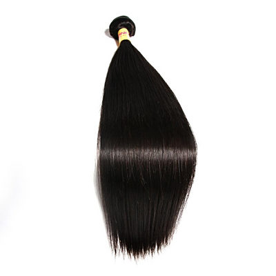 1pc Human Hair Straight 8 inch to 26 Inch / Non Remy