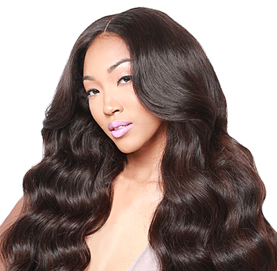 1pc Brazilian Loose Wave Human Hair Bundles 8 inch to 28 inch /  Non Remy