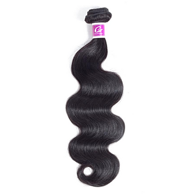 1pc Brazilian Human Hair Natural Color Body Wave / Remy