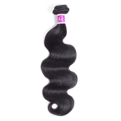 1pc Indian Hair Body Wave / Remy 8 inch 26 inch 1B Color