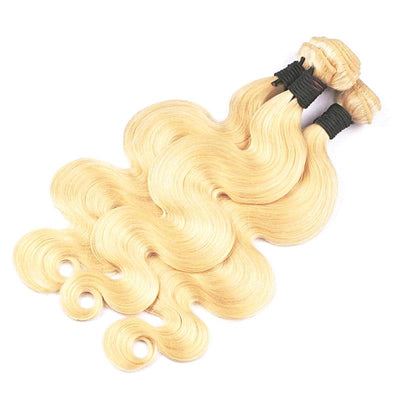 Brazilian Body Wave Remy human Hair -Weft 1 PC Blond #613
