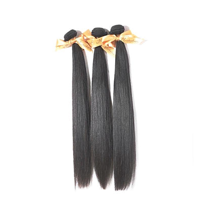 Brazilian Straight Virgin Hair Natural Color 100% Unprocessed Human Hair