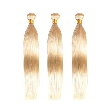 Malaysian Straight Blonde #613 Bundle Remy Hair - 1 PC