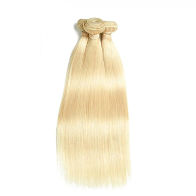 Maylaysian Straight Human Hair - Honey blond #613 - 4 Bundles