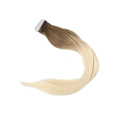 3Pc Remy Human Hair Ombre Tape-in / Color #613 Blonde