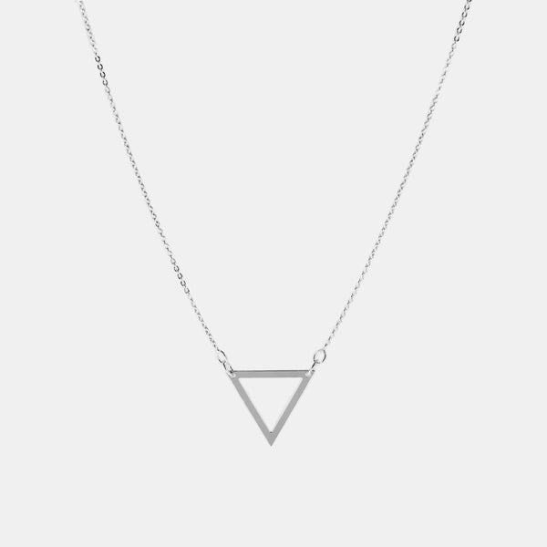Collar de Triangulo Plata