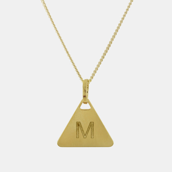 Collar Triangle Initial