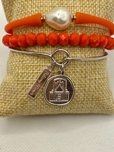 Game Day Charm Bracelet Sets