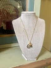 Mustard Seed Charm Necklace & Earring Set