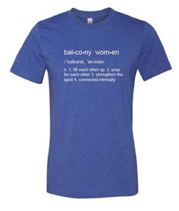 Balcony Women t-shirt