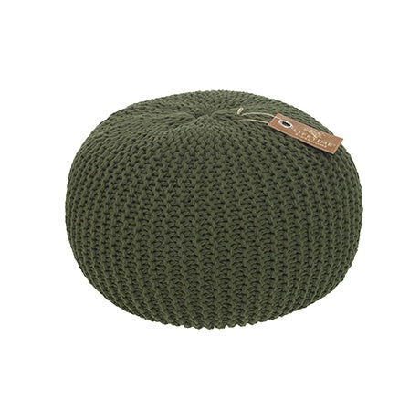 ROUND CROCHET POUF ADVENTURE - kizhouse