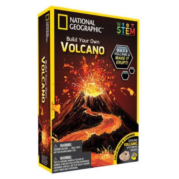 National Geo Volcano Science
