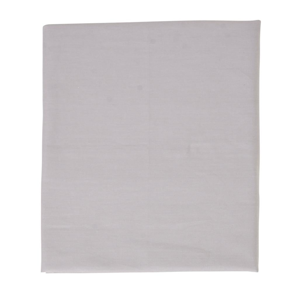 Solid Grey Fitted Sheet