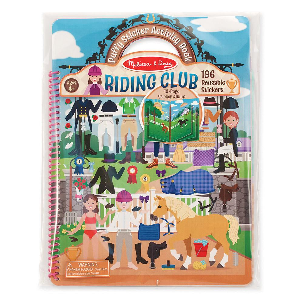 PUFFY STICKERS ALBUM - RIDING CLUB