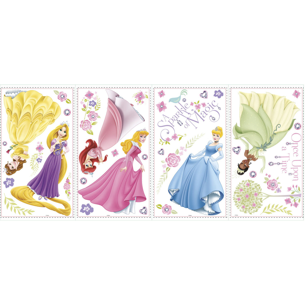 Room Decals Disney Princess Glow