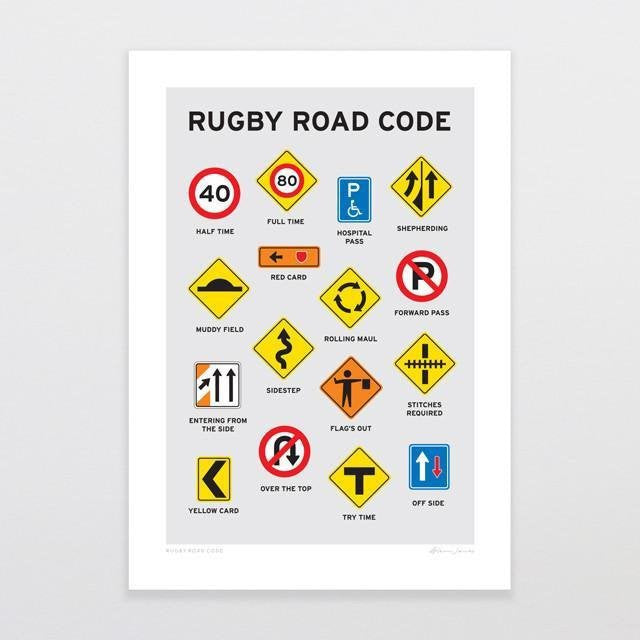 BLANK/ Rugby Road Code G.Jones