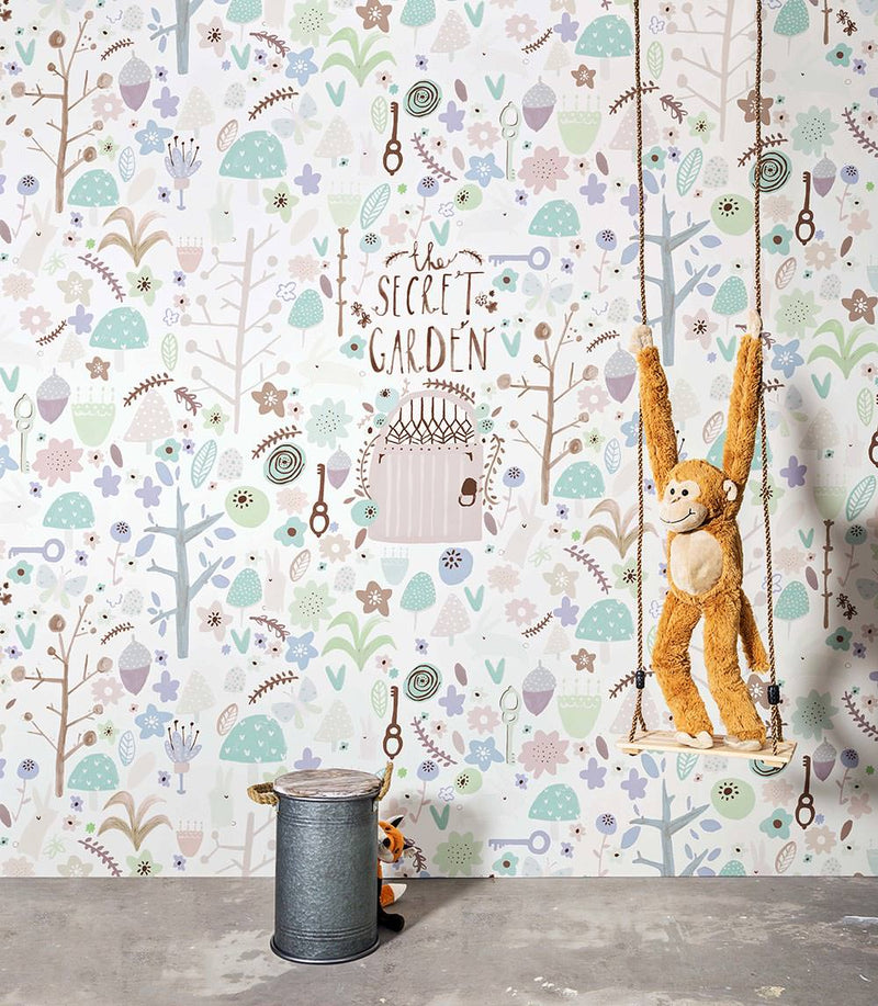 SMALL TALK Wallpaper Patten No. 219244