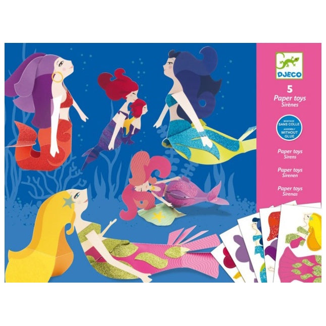 Paper Toys Mermaid