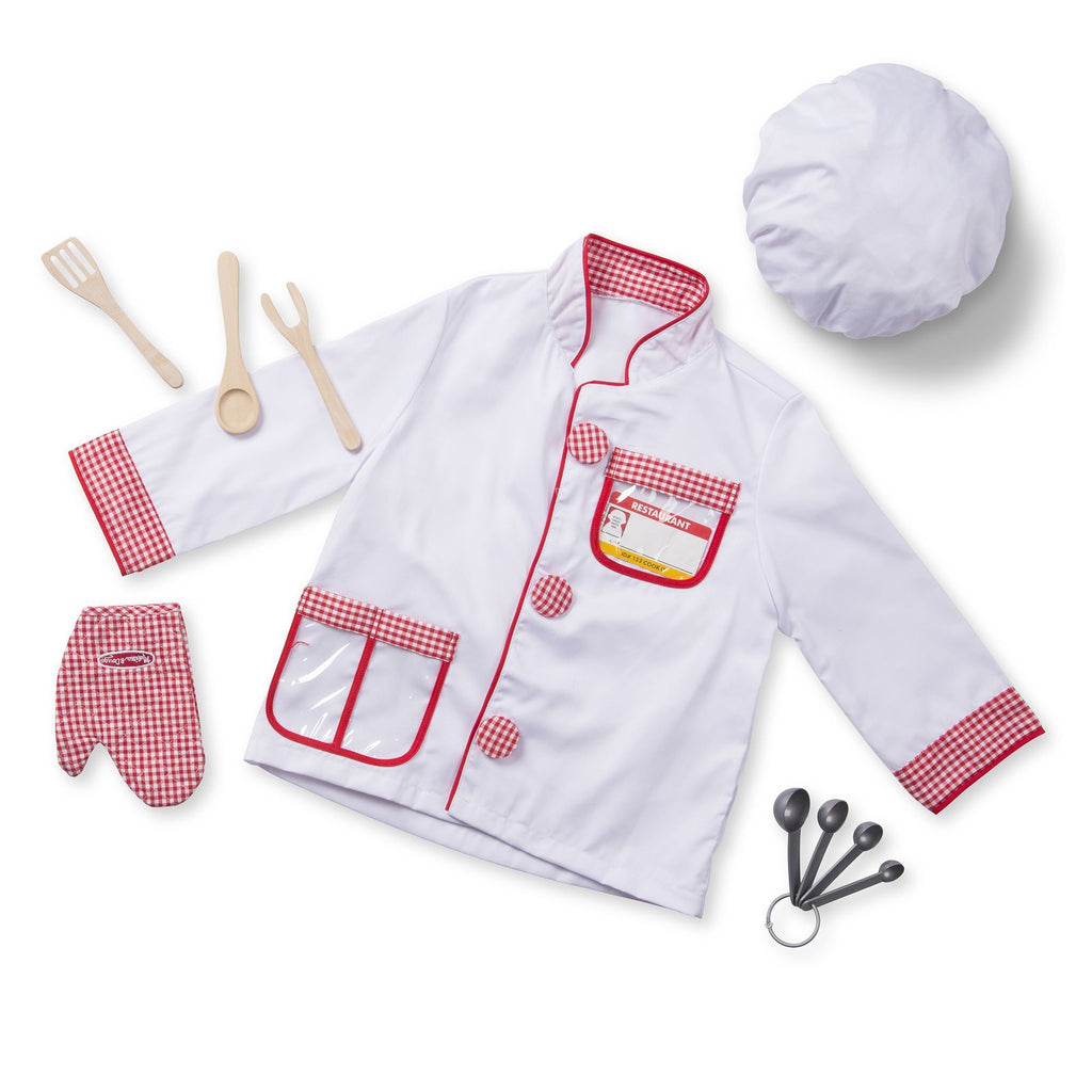 CHEF COSTUME ROLE PLY SET