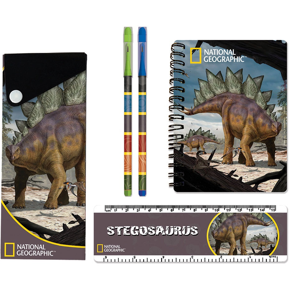 Stegosaurus Stationery Set
