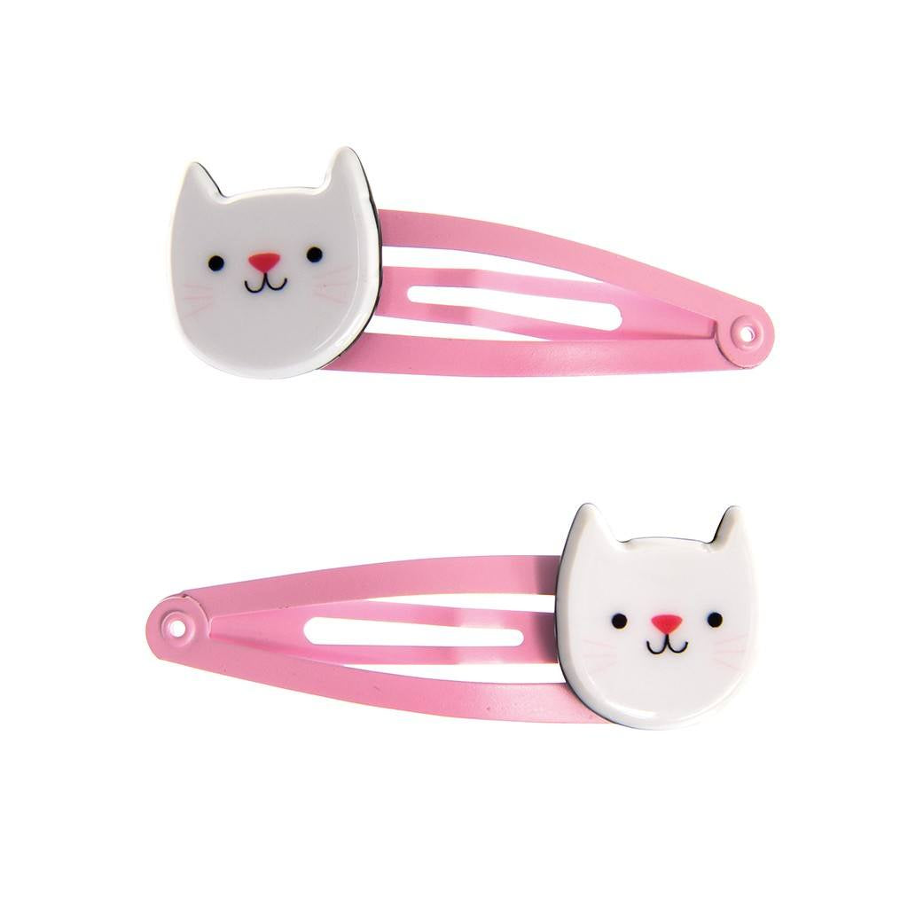 Hairclips - Cat