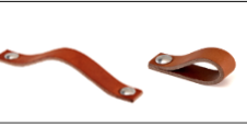 1 HANDLE LEATHER - 2 POSITIONS