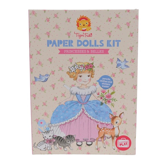Paper Dolls Kit Belle Princess