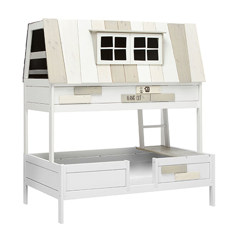 MY HANGOUT 140 / LUXURY SLATTED BASE-WHITE