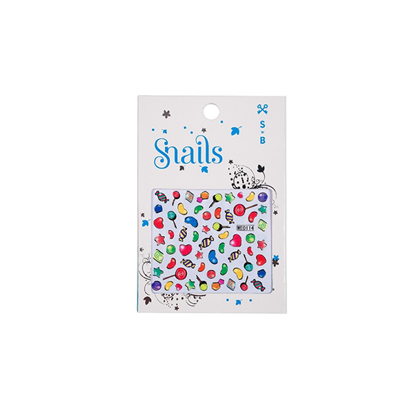 Nail Stickers Candy Blast
