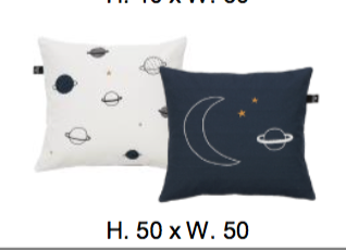 CUSHION SPACE DREAM PLANETS