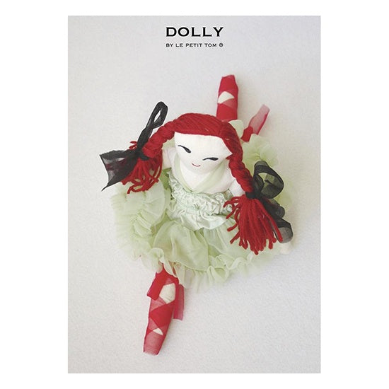 DRAGONFLY FAIRY DOLL light green