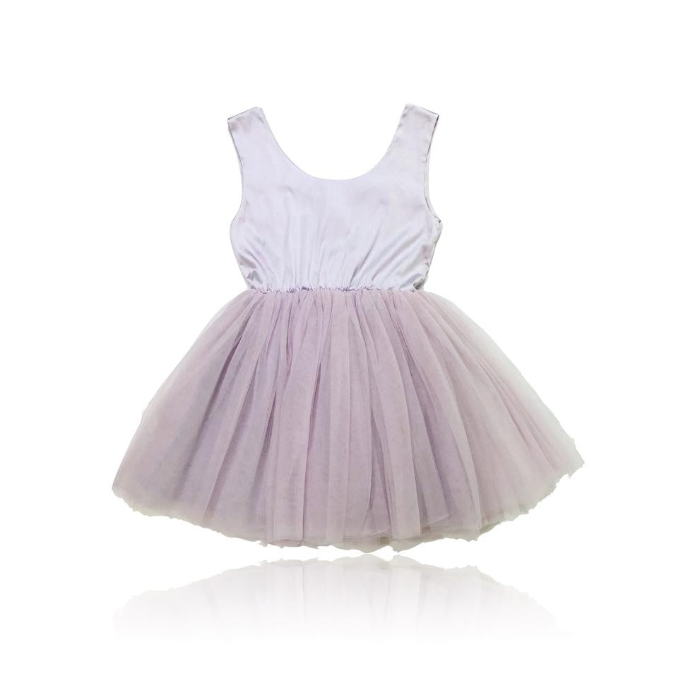 SIGNATURE BALLET DRESS violet small 4- 6Y