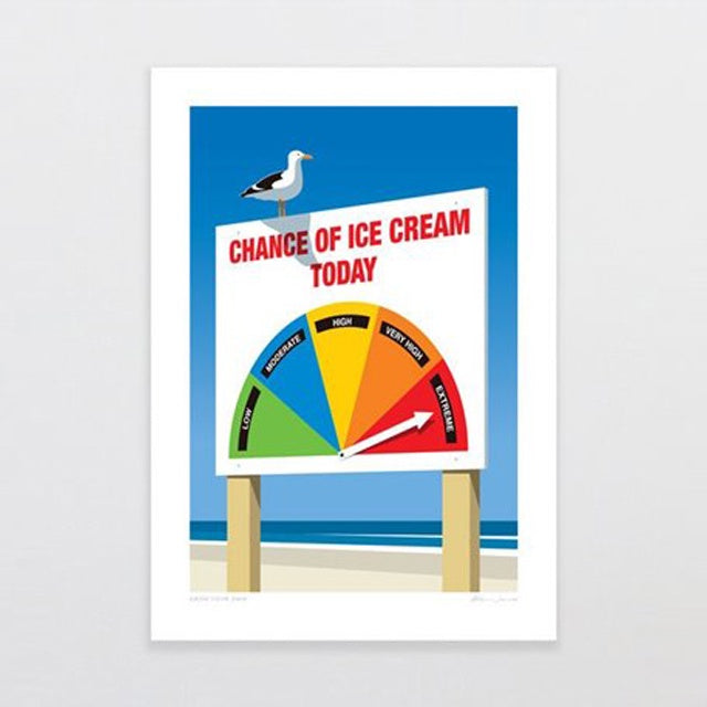 BLANK/ Chance Of Ice Cream G. Jones