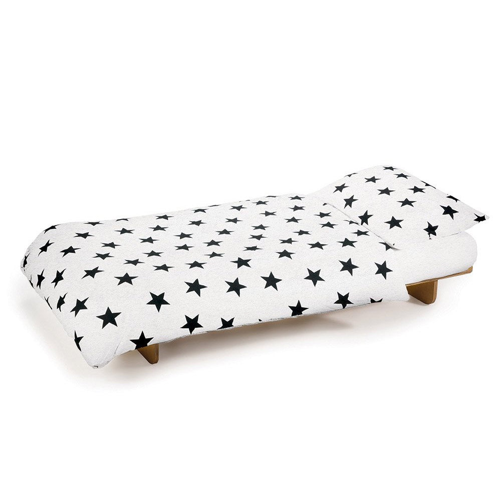 STAR BEDDING SET WHITE