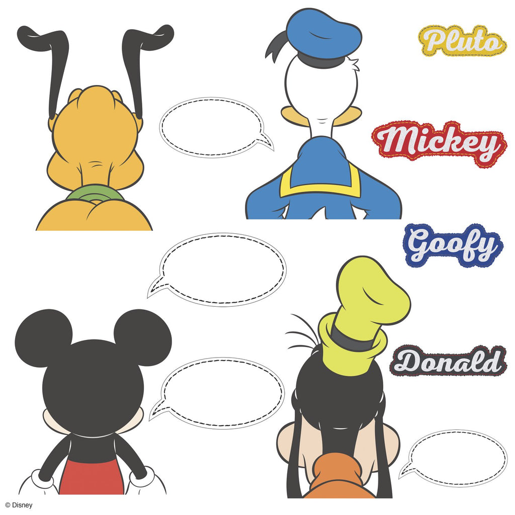 Room Decals Mickey & Friends Dry Erase
