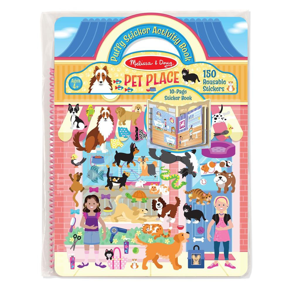 PUFFY STICKERS ALBUM - PET PLACE