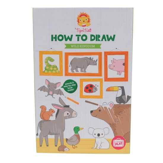 How to Draw Wild Animal