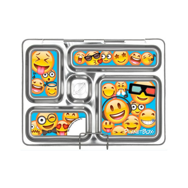 PlanetBox Rover Magnets - Emoticons