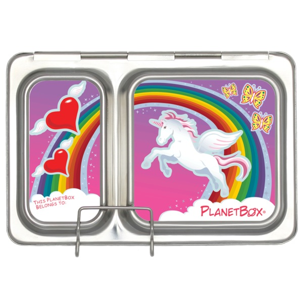 PlanetBox Shuttle Magnet - Unicorns