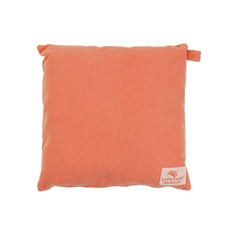 SQUARE CUSHION CORAL VILT - SUGAR PIE
