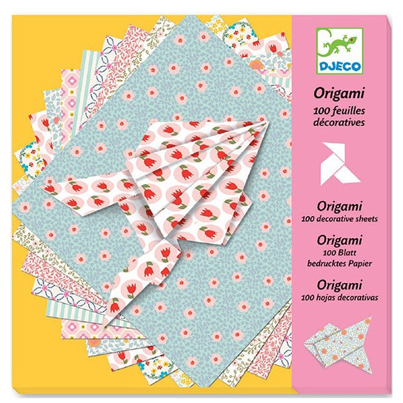 100 Decorative Sheets Origami