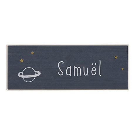 NAME PLATE - SPACE DREAM
