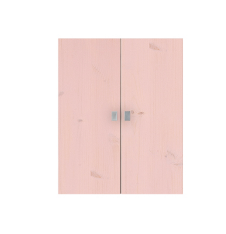 1 SET OF LARGE DOORS FOR BOOKCASE PINK